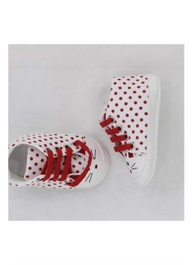First Step F-2012 Bağcıklı Puanlı Spor İlk Adım Ayakkabısı Kız Bebek Giyim Mor